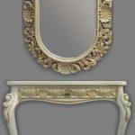 Консоль 2 и зеркало овальное